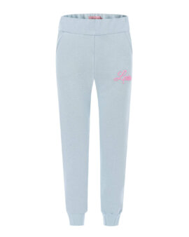 Miękkie, bawełniane spodnie dresowe w pięknym kolorze blue, LOVIN
