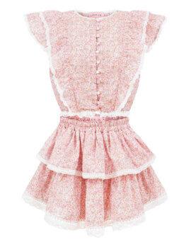 Ulubiony model LOVIN w nowej, pastelowo różowej odsłonie. Falbanki, koronki, dziewczęcość na lato. LOVIN